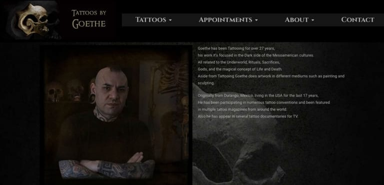 Tattoos by Goethe