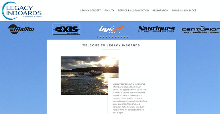 Legacy Inboards