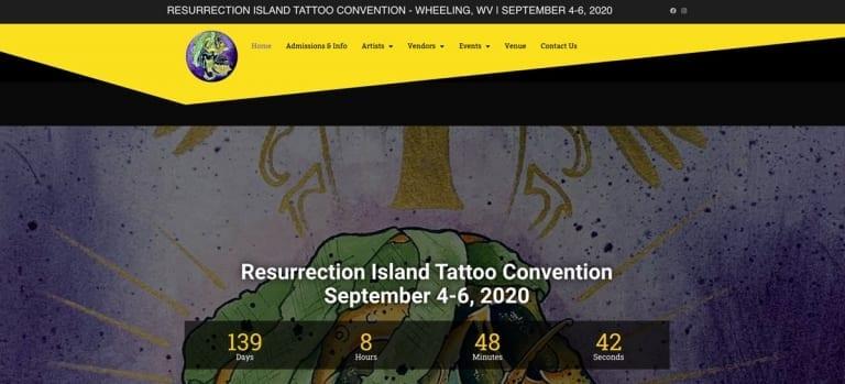 Resurrection Island Tattoo Convention