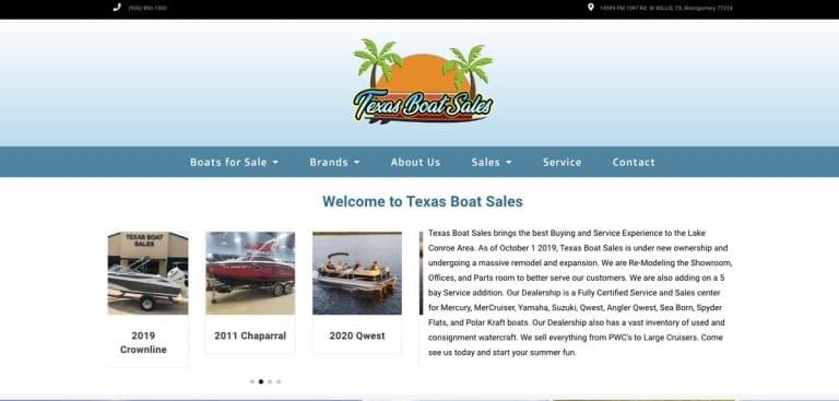 Texas Boat Sales