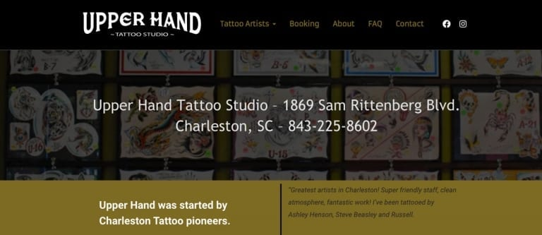 Upperhand Tattoo Studio