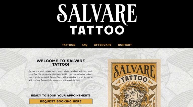 Salvare Tattoo